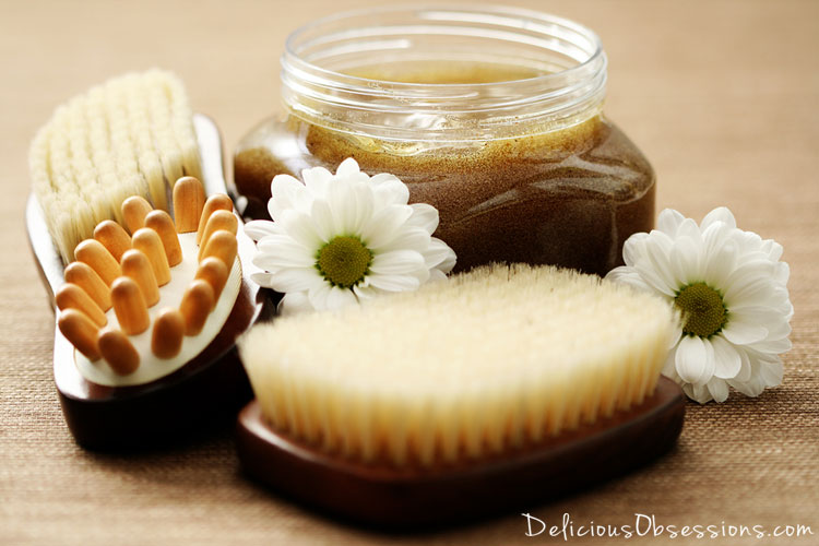 Simple Sugar Body Scrub Recipe with Coconut Oil