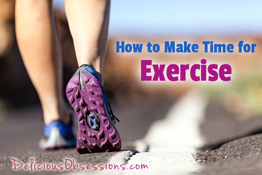 Making Time for Exercise