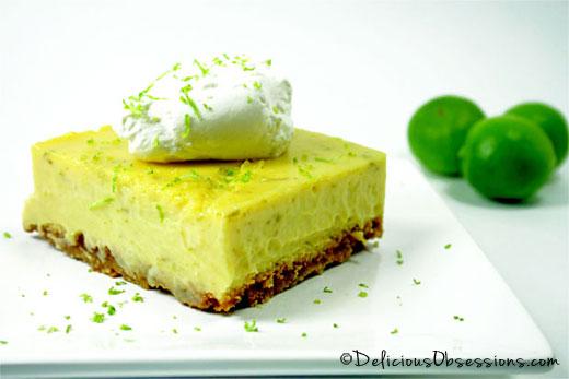 Key Lime Pie Bars :: Gluten-Free