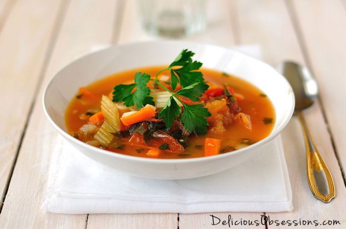 Turkey Vegetable Rice Soup Recipe