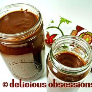 Homemade Enchilada Sauce Recipe // deliciousobsessions.com
