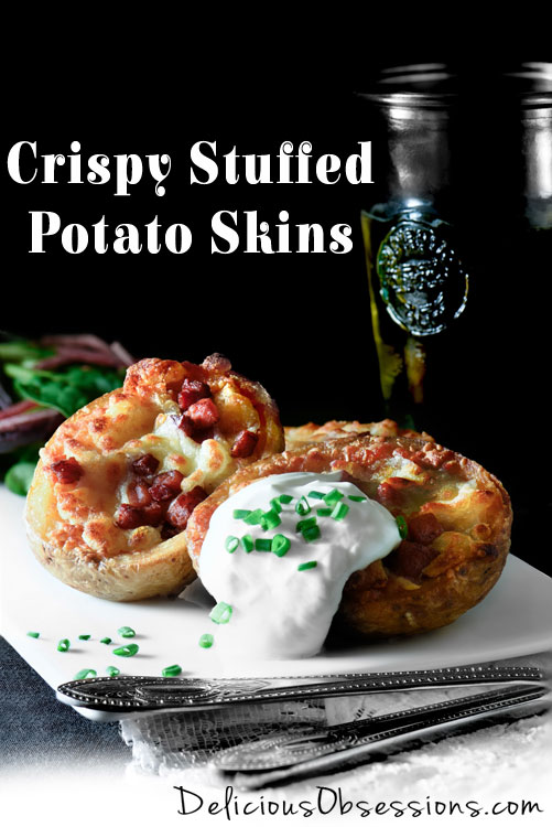 Crispy Stuffed Potato Skins :: Gluten-Free, Grain-Free