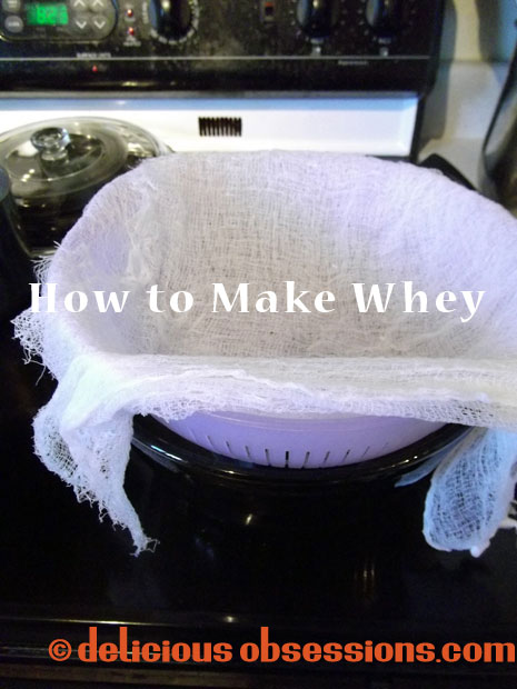How to Make Whey