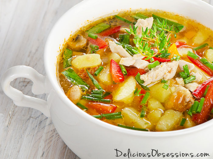Classic Chicken and Vegetable Soup Recipe