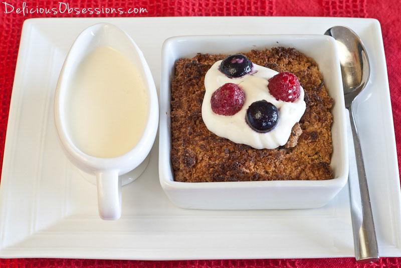Mixed Fruit Cobbler Recipe // deliciousobsessions.com #paleo #primal #grainfree #dairyfree