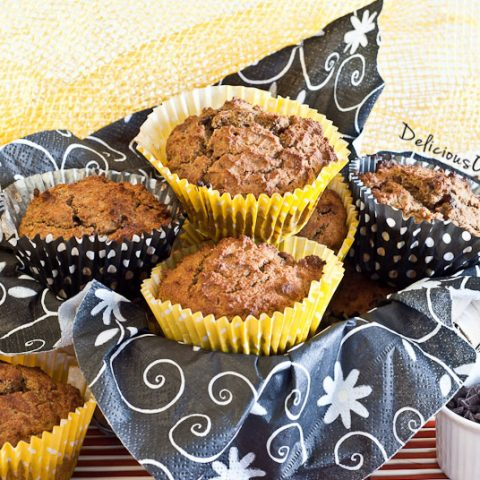 Pumpkin Spice Muffins // deliciousobsessions.com #glutenfree #grainfree #dairyfree #paleo