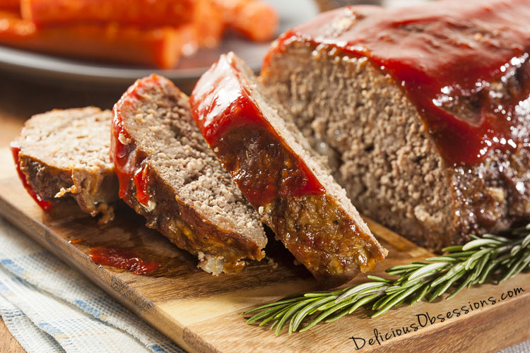Basic Grass-fed Beef Meatloaf Recipe