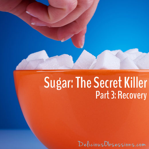 Sugar: The Secret Killer – Part 3 – Recovery // deliciousobsessions.com
