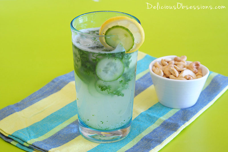 "Refreshing Coconut Water ""Green"" Drink (Dairy Free, Autoimmune Friendly)"