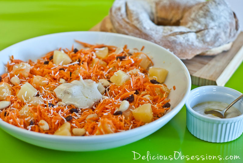 Simple Summer Carrot Salad (gluten-free, dairy-free option, Autoimmune option)