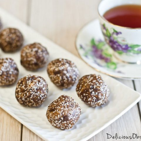Almond Butter (or other nut/seed butter) Protein Snacks // deliciousobsessions.com #paleo #primal #glutenfree #dairyfree