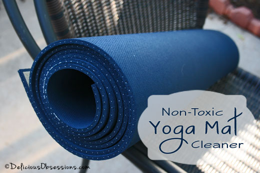 Non-Toxic Homemade Yoga Mat Cleaner Recipe
