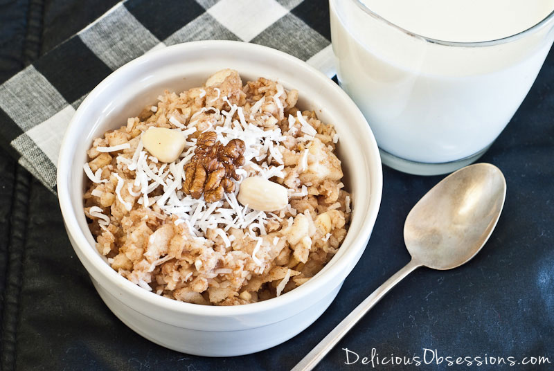 "Apple ""Muesli"" (grain free)"