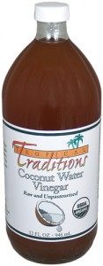 Tropical Traditions Organic Raw Coconut Water Vinegar