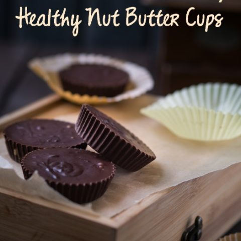 Healthy Homemade Nut Butter Cups With Coconut Oil