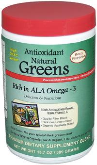 Antioxidant Omega 3 Greens
