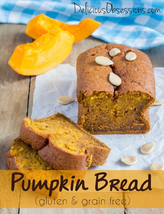 Pumpkin Bread Recipe :: Gluten, Grain, and Dairy Free