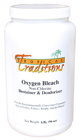 Tropical Tradtions' Oxygen Bleach - Chemical Free