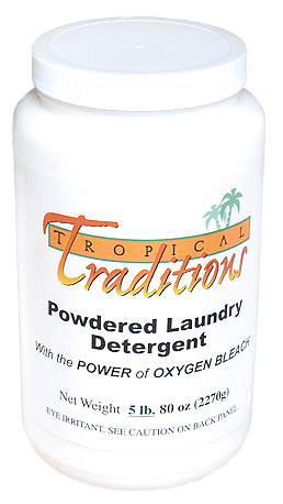 Tropical Tradtions' Powdered Laundry Detergent - Chemical Free