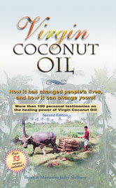 Virgin Coconut Oil Book from Tropical Traditions