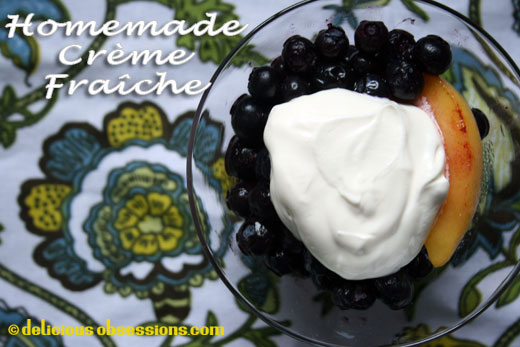 52 Weeks of Bad A** Bacteria – Week 15 – Homemade Crème Fraîche Recipe