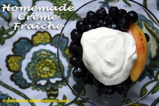 Homemade Creme Fraiche Recipe