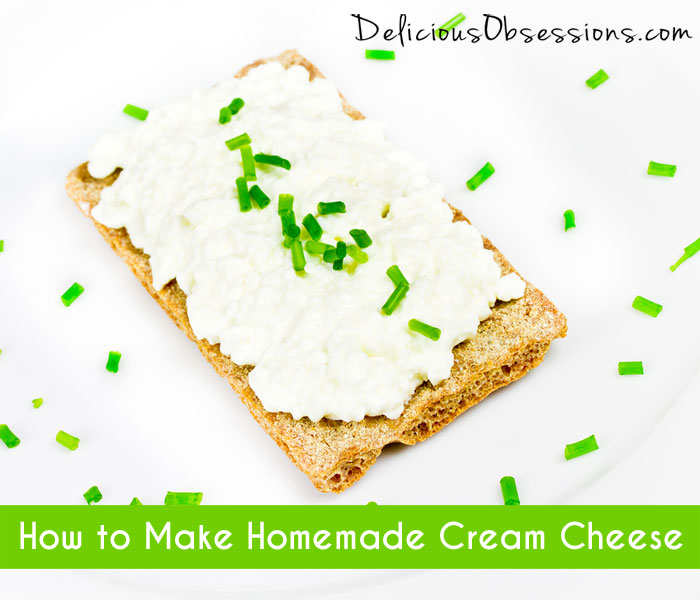 How to Make Homemade Cream Cheese :: 52 Weeks of Bad A** Bacteria (Week 19)