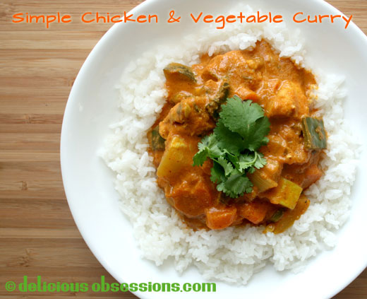 Curry recipes easy vegetarian