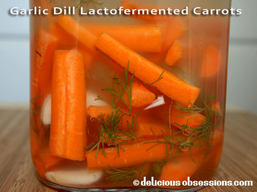 52 Weeks of Bad A** Bacteria – Week 21 – Lacto-Fermented Dilly Carrots