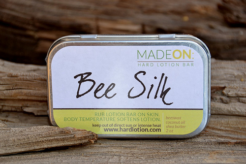 Bee Silk Hard Lotion from MadeOn Skin Care Products