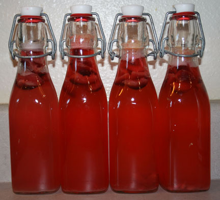 Cherry lemonade water kefir - learn how to make water kefir at home