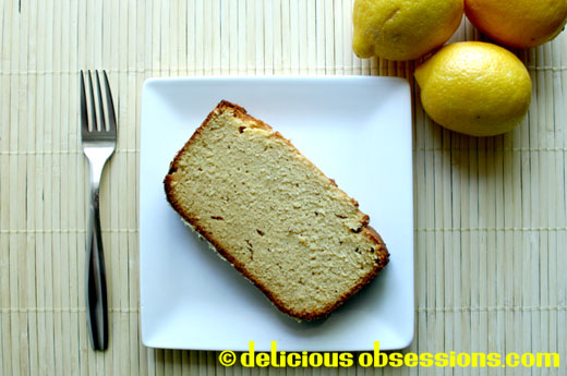 Gluten Free Lemon Coconut Pound Cake – Featured on The Nourishing Gourmet