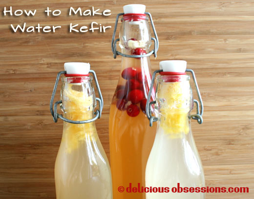52 Weeks of Bad A** Bacteria – Week 26 – How to Make Water Kefir