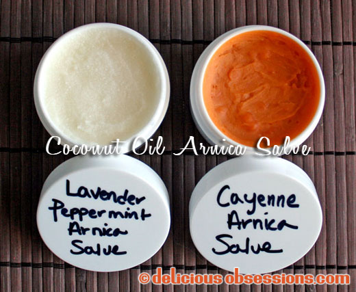 Coconut Oil Arnica Salve Recipe
