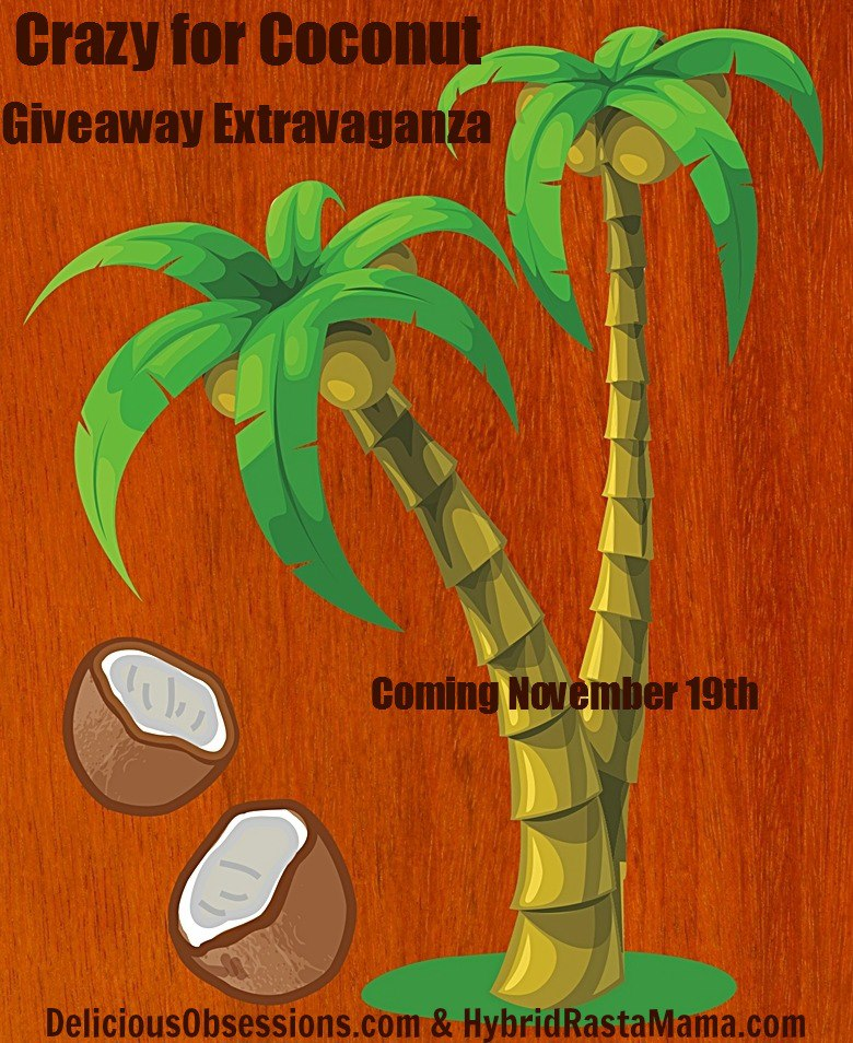 Delicious Obsessions: Crazy for Coconut Giveaway Extravaganza | www.deliciousobsessions.com