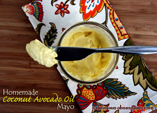 Homemade Mayonnaise Recipe with Coconut and Avocado Oil