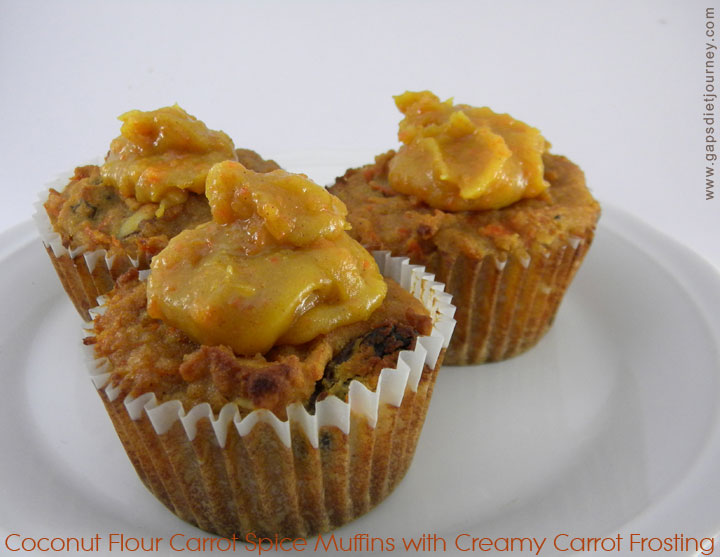 Carrot Spice Muffins Recipe - Baking with Coconut Flour