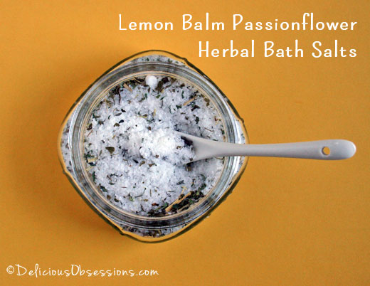Homemade Herbal Bath Salts Recipe and the Top 5 Reasons For a Hot Bath