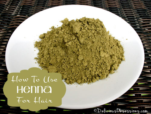 How to Use Henna For Hair