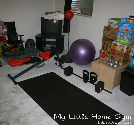 My Home Gym and a Review of The Women's Health Big Book of Exercises