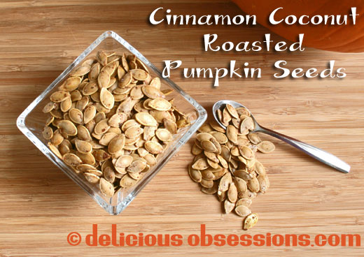 Cinnamon Coconut Roasted Pumpkin Seed Recipe