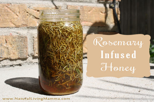 Rosemary Infused Honey Recipe {Guest Post}