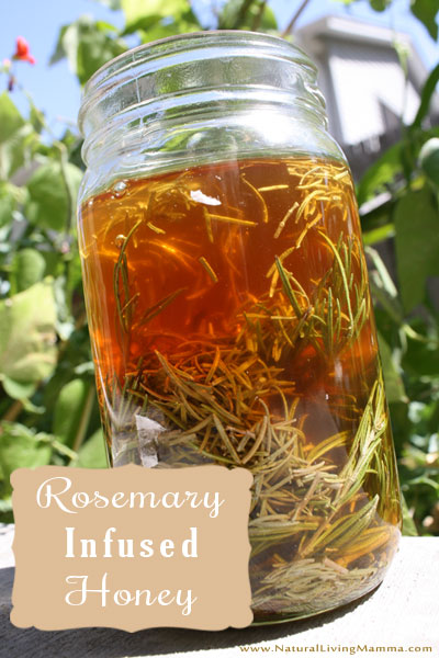 Rosemary Infused Honey Recipe