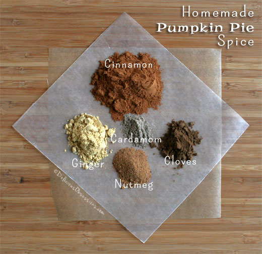 Homemade Pumpkin Pie Spice Recipe | deliciousobsessions.com