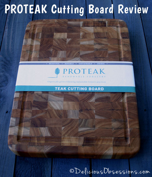 proteak wooden cutting board review,