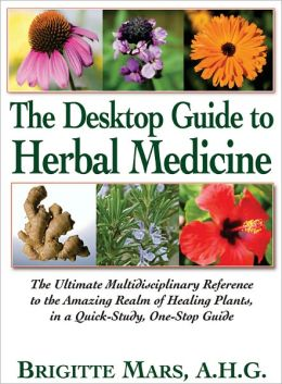 The Desktop Guide to Herbal Medicine Book Review -- Great herb book for all homes!