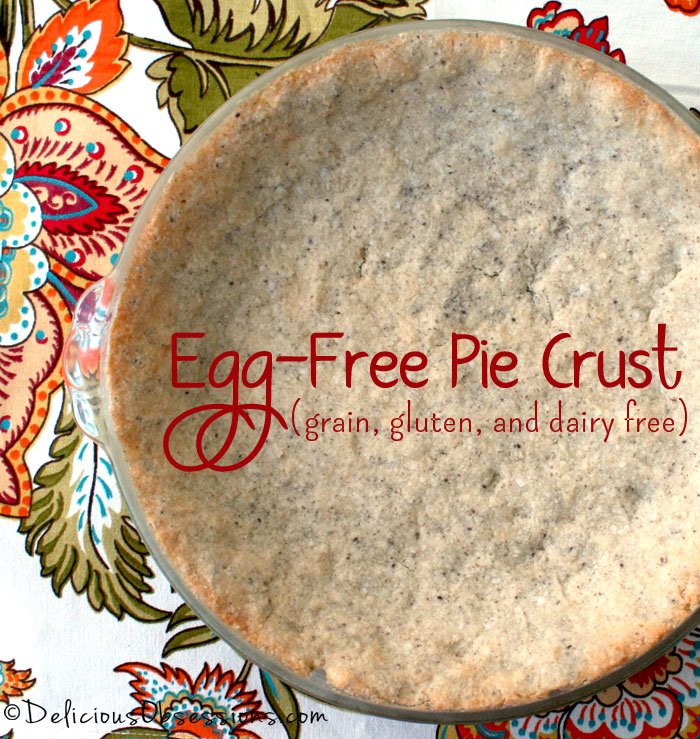 Egg-Free Pie Crust :: Grain, Gluten, and Dairy Free, Autoimmune Paleo Option