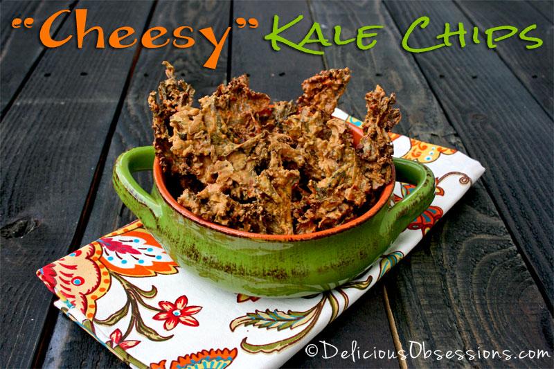 Copycat Recipe: Rhythm's Zesty Nacho Kale Chips // deliciousobsessions.com