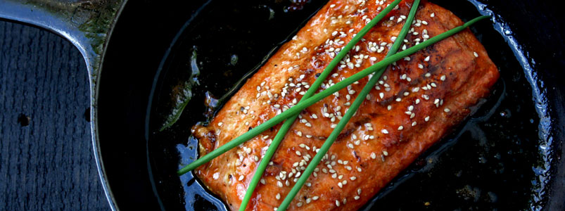 Honey Sesame Seared Salmon Recipe (gluten and dairy free)