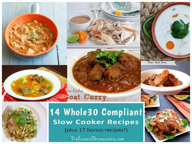 14 Whole30 Compliant Slow Cooker Recipes (plus 17 bonus recipes!)